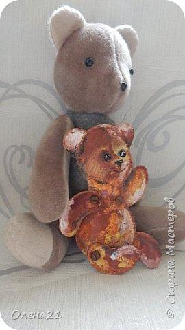 Здравствуйте, жители страны мастеров.  Наша работа посвящена любимому плюшевому медвежонку.  фото 10