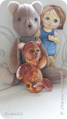 Здравствуйте, жители страны мастеров.  Наша работа посвящена любимому плюшевому медвежонку.  фото 11