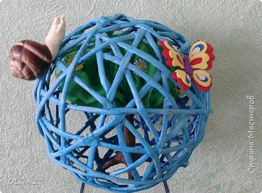 """Приветствуем всех конкурсантов, жителей и гостей Страны Мастеров !!!  22 апреля – Всемирный день Земли!!! Этому дню посвящена наша конкурсная работа """" Земной шар в руках детей"""" фото 7"""