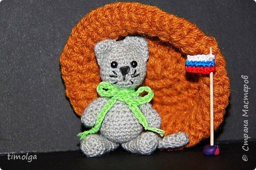 """Здравствуйте, жители Страны Мастеров! Меня зовут Лиза. Я учусь в 6 классе. В свободное время мне нравится делать игрушки из фетра и вязать крючком. С огромным желанием и хорошим настроением я связала игрушку на конкурс """"Дети планеты"""". фото 1"""