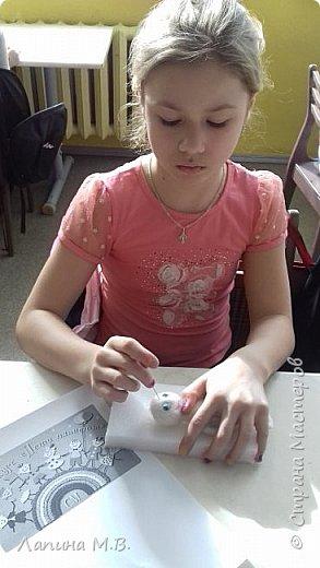 """Халтурина Ольга  с большим желанием решила поучаствовать в конкурсе. У ее есть лучший друг,  это  щенок Тишка. Оля занимается в творческом объединении """"Фантазии из бисера и войлока"""" и свою работу она выполнила в технике сухое валяние фото 3"""