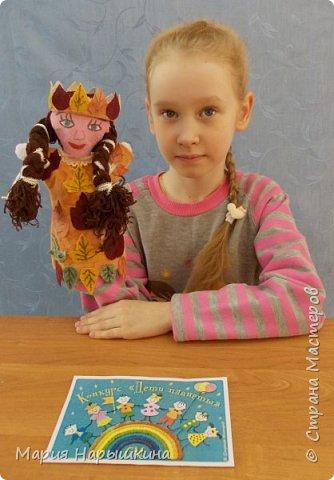 """На конкурс представлена работа Терехиной Ирины """"Весна - красна"""". Изготовлением кукол для кукольного театра Ирина занимается второй год. Девочка она очень старательная. фото 2"""