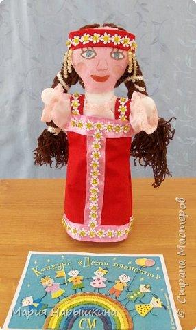 """На конкурс представлена работа Терехиной Ирины """"Весна - красна"""". Изготовлением кукол для кукольного театра Ирина занимается второй год. Девочка она очень старательная. фото 8"""