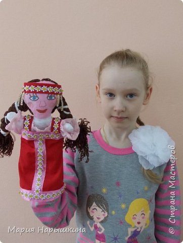 """На конкурс представлена работа Терехиной Ирины """"Весна - красна"""". Изготовлением кукол для кукольного театра Ирина занимается второй год. Девочка она очень старательная. фото 9"""
