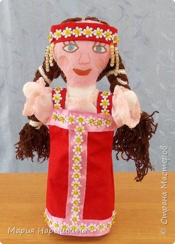 """На конкурс представлена работа Терехиной Ирины """"Весна - красна"""". Изготовлением кукол для кукольного театра Ирина занимается второй год. Девочка она очень старательная. фото 1"""