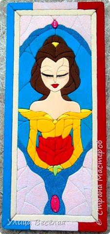 """Зарина сделала принцессу! Я тоже хочу! Ведь мне тоже нравятся принцессы! Я сделала Белль из мультфильма """"Красавица и чудовище"""". Эта сказка так похожа на нашу русскую """"Аленький цветочек"""" Сергея Тимофеевича Аксакова. Больше похожа именно волшебная европейская сказка, которую обычно печатают в приложении к сказкам Шарля Перро. фото 2"""