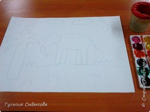 Из всех животных мне очень нравится слон и слоненки, потому что они всегда веселые в мультиках, добрые и храбрые. Обитают в тропических странах. фото 2