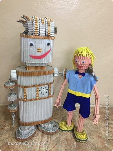 Привет, знакомтесь - это Ванечка из будущего с его большой игрушкой.  фото 3