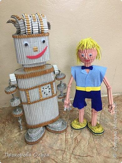 Привет, знакомтесь - это Ванечка из будущего с его большой игрушкой.  фото 4