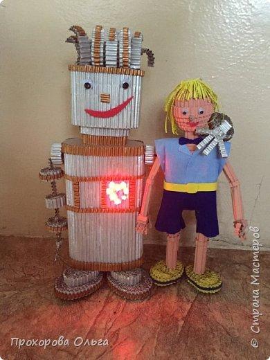 Привет, знакомтесь - это Ванечка из будущего с его большой игрушкой.  фото 2