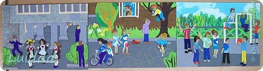 """Добрый день жители Страны Мастеров. Хочу представить вашему вниманию третью работу на тему советского детства, которая называется """" На спортивной площадке"""". фото 8"""