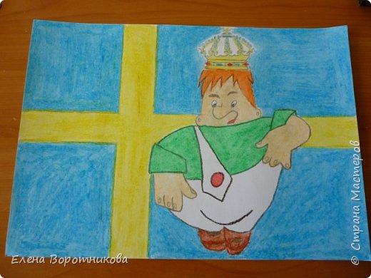 Ка́рлсон - популярный литературный персонаж, созданный шведской писательницей Астрид Линдгрен. Карлсон живёт в маленьком домике на крыше многоквартирного дома в Стокгольме – столице Швеции. фото 1