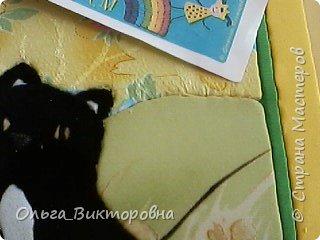 У меня дома живет кошка, ее зовут Люся. Она очень озорная и веселая. Мы с ней часто играем, я ее кормлю молочком. Именно этот процесс я и решила изобразить в своей работе. фото 16
