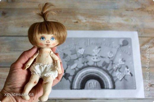 Свою куколку я назвала Варей и посадила ее отдыхать на полянке. фото 4