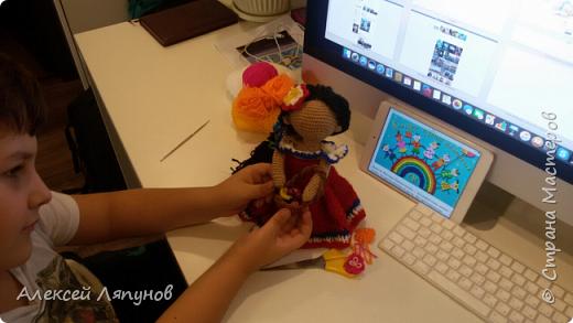 Доминиканская кукла Лиме фото 7