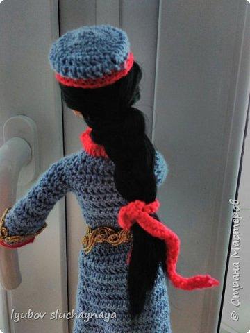 """Здравствуйте, дорогие жители Страны Мастеров. В номинации """"Одежда детей планеты"""" представляю свою работу """"Кукла в национальном армянском костюме""""  Девушка армянка, Как ты хороша. Стройная смуглянка, Чистая душа. Словно два агата Светятся глаза, По спине струится длинная коса. Жизненною силой Грудь твоя полна, Доброю и милой Лилией взросла. Два румянца розовых Сияют на щеках И улыбка светится на твоих устах. Легкою походкою Ты к ручью пришла, У джигита гордого Сердце отняла… Горная красавица, Как ты хороша! Стройная смуглянка! Чистая душа!  автор Псих_Джан фото 9"""