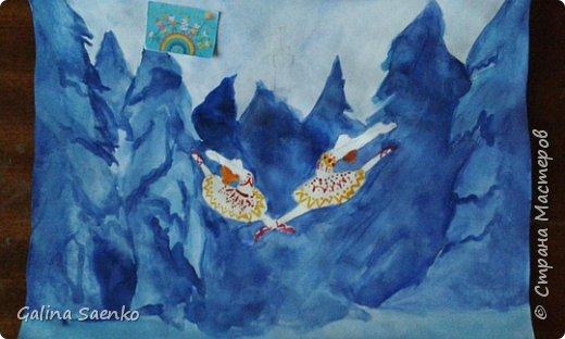 Мечты сбываются! Так назвала свою работу Малика, посвятив ее Французско-канадскому музыкальному мультфильму «Балерина» (Ballerina) , 2016, в котором главной героине пришлось приложить немало усилий, чтобы воплотить в жизнь свою мечту. фото 4