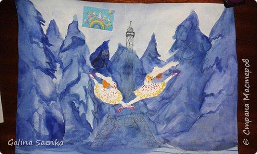 Мечты сбываются! Так назвала свою работу Малика, посвятив ее Французско-канадскому музыкальному мультфильму «Балерина» (Ballerina) , 2016, в котором главной героине пришлось приложить немало усилий, чтобы воплотить в жизнь свою мечту. фото 5