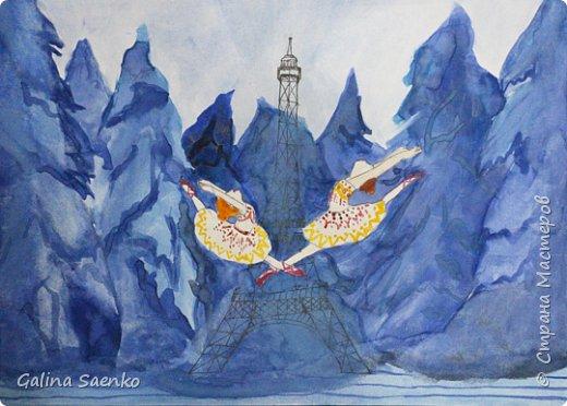 Мечты сбываются! Так назвала свою работу Малика, посвятив ее Французско-канадскому музыкальному мультфильму «Балерина» (Ballerina) , 2016, в котором главной героине пришлось приложить немало усилий, чтобы воплотить в жизнь свою мечту. фото 1