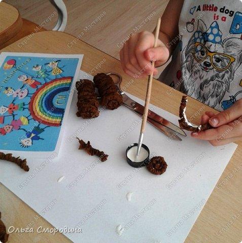 """Добрый день! Моя ученица Юлечка решила поучаствовать в конкурсе со своей любимой сказкой """"Машенька и медведь"""". фото 2"""