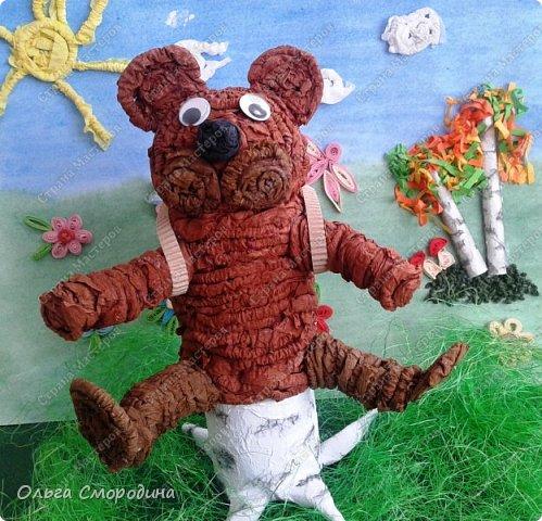 """Добрый день! Моя ученица Юлечка решила поучаствовать в конкурсе со своей любимой сказкой """"Машенька и медведь"""". фото 11"""
