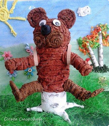 """Добрый день! Моя ученица Юлечка решила поучаствовать в конкурсе со своей любимой сказкой """"Машенька и медведь"""". фото 13"""