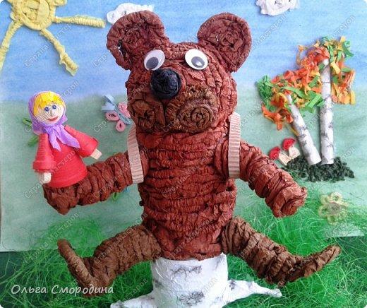 """Добрый день! Моя ученица Юлечка решила поучаствовать в конкурсе со своей любимой сказкой """"Машенька и медведь"""". фото 1"""