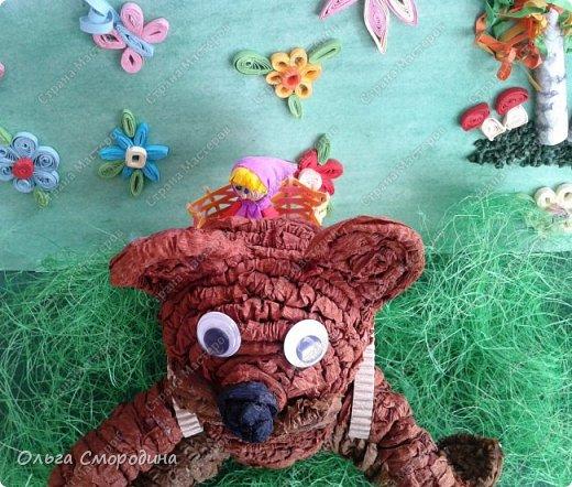 """Добрый день! Моя ученица Юлечка решила поучаствовать в конкурсе со своей любимой сказкой """"Машенька и медведь"""". фото 15"""