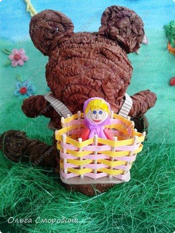 """Добрый день! Моя ученица Юлечка решила поучаствовать в конкурсе со своей любимой сказкой """"Машенька и медведь"""". фото 16"""