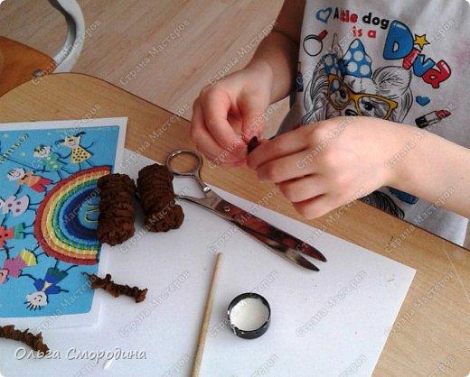 """Добрый день! Моя ученица Юлечка решила поучаствовать в конкурсе со своей любимой сказкой """"Машенька и медведь"""". фото 3"""