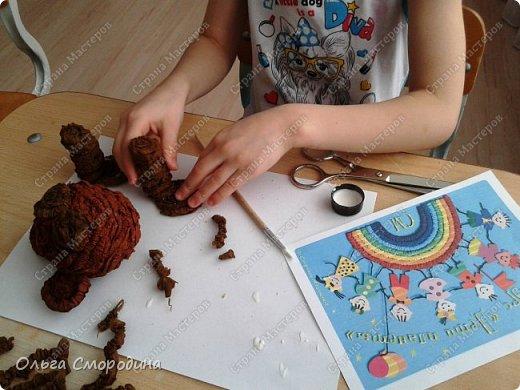 """Добрый день! Моя ученица Юлечка решила поучаствовать в конкурсе со своей любимой сказкой """"Машенька и медведь"""". фото 4"""