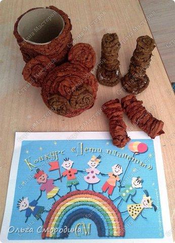 """Добрый день! Моя ученица Юлечка решила поучаствовать в конкурсе со своей любимой сказкой """"Машенька и медведь"""". фото 5"""