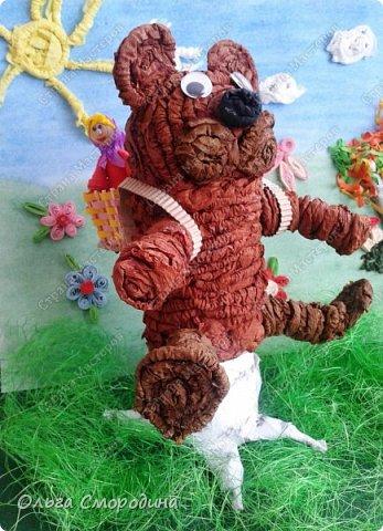 """Добрый день! Моя ученица Юлечка решила поучаствовать в конкурсе со своей любимой сказкой """"Машенька и медведь"""". фото 9"""