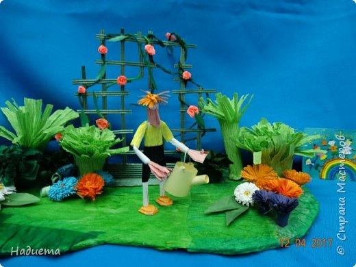 """Здравствуйте! Представляем еще одну нашу работу """"Мой сад"""" придумал и воплотил в жизнь все сам Никита. фото 8"""