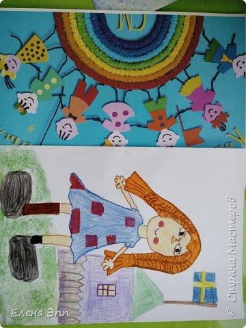 Пеппи -любимая героини Полины. Они даже похожи: весёлые, любят придумывать необычные игры и небылицы, и им никогда не бывает скучно. фото 6