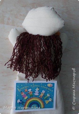 Для конкурса я решила сделать перчаточную куклу Бабки - Ежки. Это очень яркий персонаж, который встречается во многих русских народных сказках. фото 6