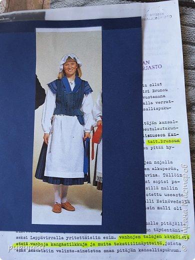 Эта девочка вас приветствует из Финляндии! Это национальный  костюм девушек из церковной деревни Леппявирта,что находится с в озерной части центральной Финляндии.  фото 12