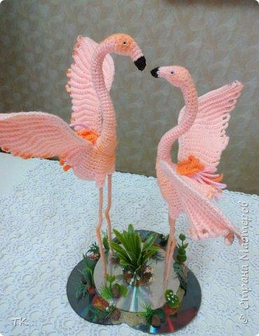 """"""" Розовый фламинго"""" фото 1"""