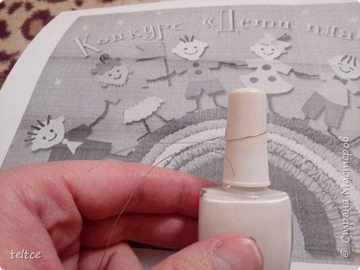 Познакомлю с новым увлечением: изделиями из проволоки и лака для ногтей. фото 4