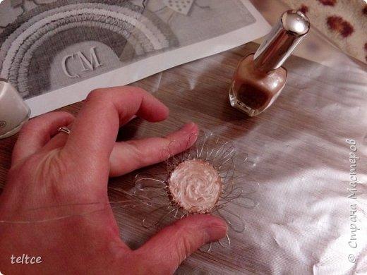 Познакомлю с новым увлечением: изделиями из проволоки и лака для ногтей. фото 6