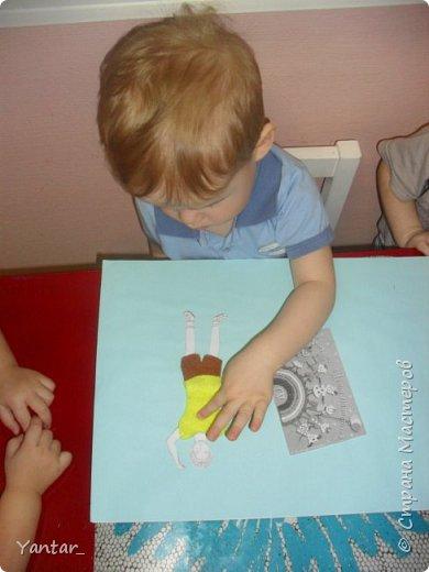 Работа выполнена детьми ясельной группы под руководством воспитателя. фото 3