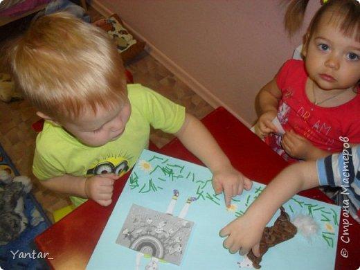 Работа выполнена детьми ясельной группы под руководством воспитателя. фото 6