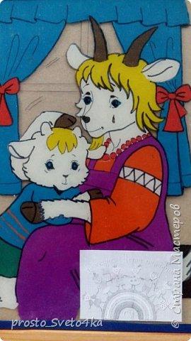 Здравствуйте, уважаемые мастера и мастерицы! Представляю вам работу моей ученица Щепетновой Ольги в технике пластилинового витража. Оля очень любит слушать сказки, с удовольствием рисует и лепит сюжеты из них.  Сюжет для работы выбрали совместно  из детской раскраски.  фото 2