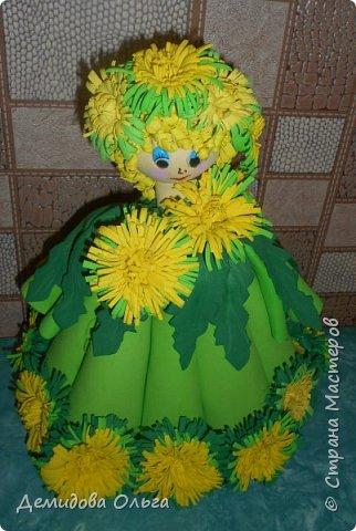Представляю на конкурс куклу Одуванчик. фото 7