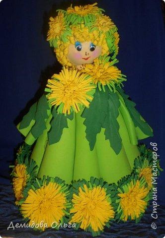 Представляю на конкурс куклу Одуванчик. фото 1