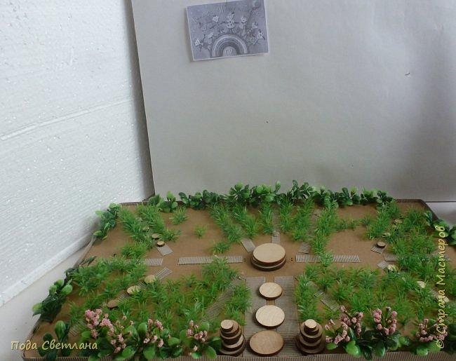 """""""Птичий рай""""- -экологический уголок. В Москве в Ботаническом саду есть японский сад - кусочек Японии-нeбoльшoй yгoлoк типичнoгo для Cтpaны Bocxoдящeгo coлнцa лaндшaфтa. Мы смотрели на цветущую сакуру , ходили по дорожкам, любовались мостиками и  pyчьём c кacкaдoм вoдoпaдoв....Захотелось сделать свой уголок...весенний, птичий...  фото 14"""