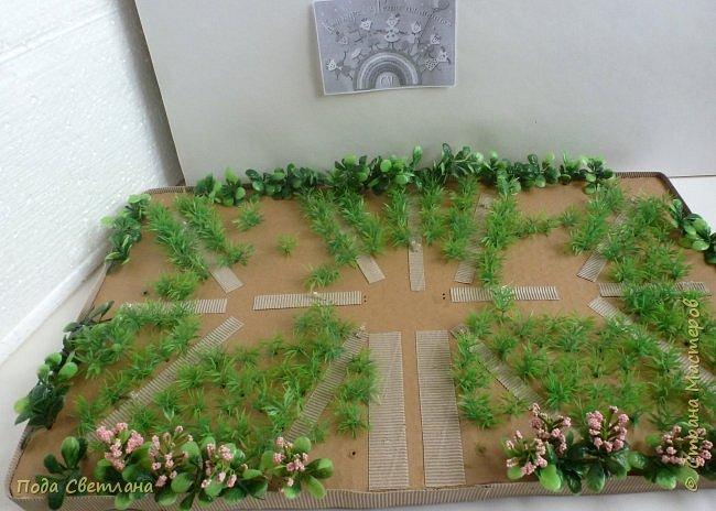 """""""Птичий рай""""- -экологический уголок. В Москве в Ботаническом саду есть японский сад - кусочек Японии-нeбoльшoй yгoлoк типичнoгo для Cтpaны Bocxoдящeгo coлнцa лaндшaфтa. Мы смотрели на цветущую сакуру , ходили по дорожкам, любовались мостиками и  pyчьём c кacкaдoм вoдoпaдoв....Захотелось сделать свой уголок...весенний, птичий...  фото 13"""
