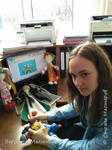 Я очень люблю шить, мастерить, заниматься творчеством. Моё увлечение - мастерить кукол. Очень люблю мою страну - Россию.  Мне интересен мир народного костюма, ведь каждый из них отражает особенности своего народа, его характер. фото 4