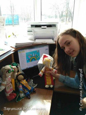 Я очень люблю шить, мастерить, заниматься творчеством. Моё увлечение - мастерить кукол. Очень люблю мою страну - Россию.  Мне интересен мир народного костюма, ведь каждый из них отражает особенности своего народа, его характер. фото 12