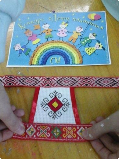 Сестренка и братишка - чувашские ребятишки! На создание таких текстильных куколок вдохновляет наша Чувашская Республика и её яркая национальная чувашская вышивка! фото 15
